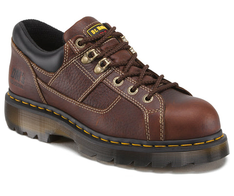 Dr Martens Teak Unisex Gunby ST Trailblaz Leather Work Shoes