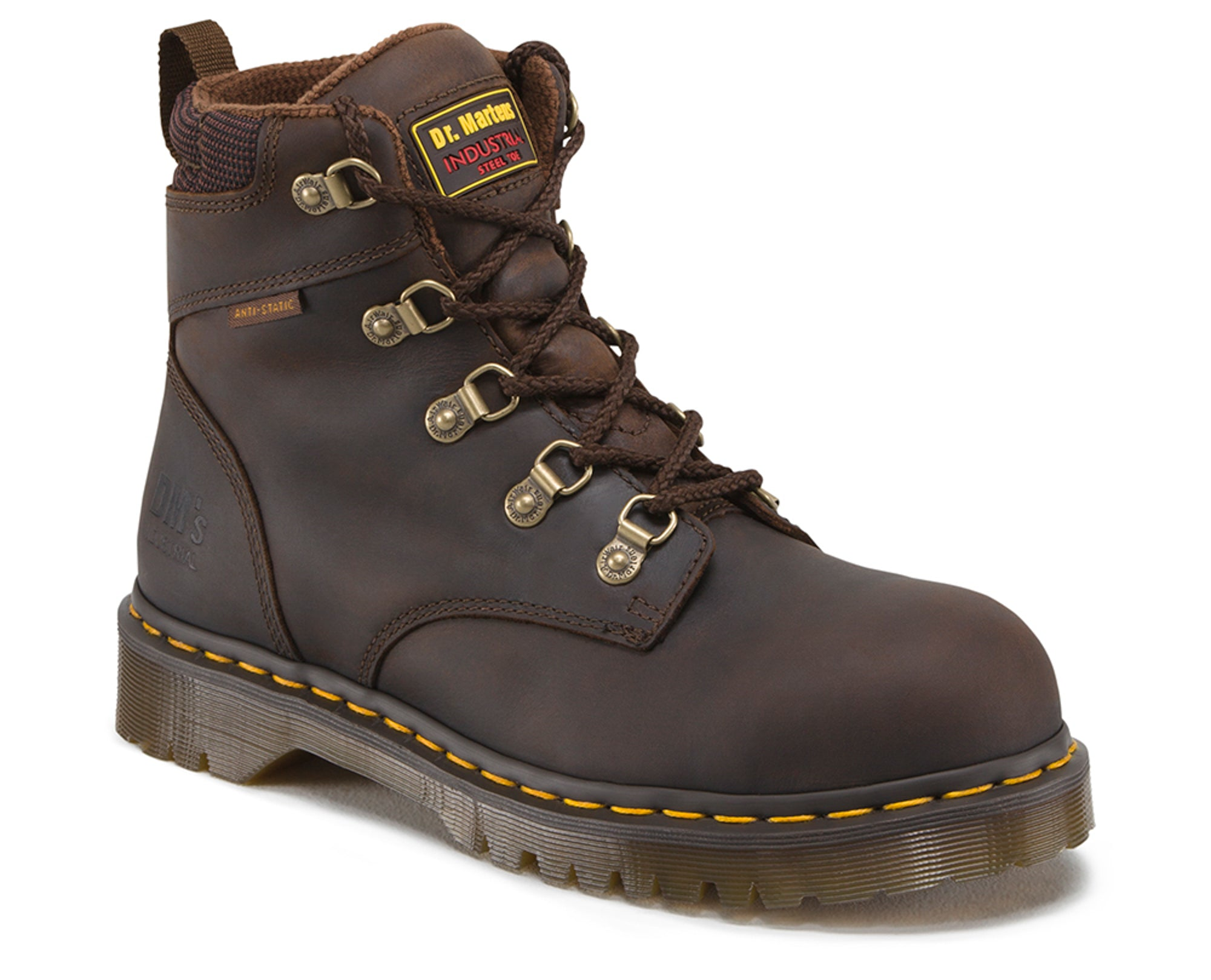 db9f34221e3 Dr Martens Gaucho Unisex Holkham Sd ST Volcano Leather Work Boots ...