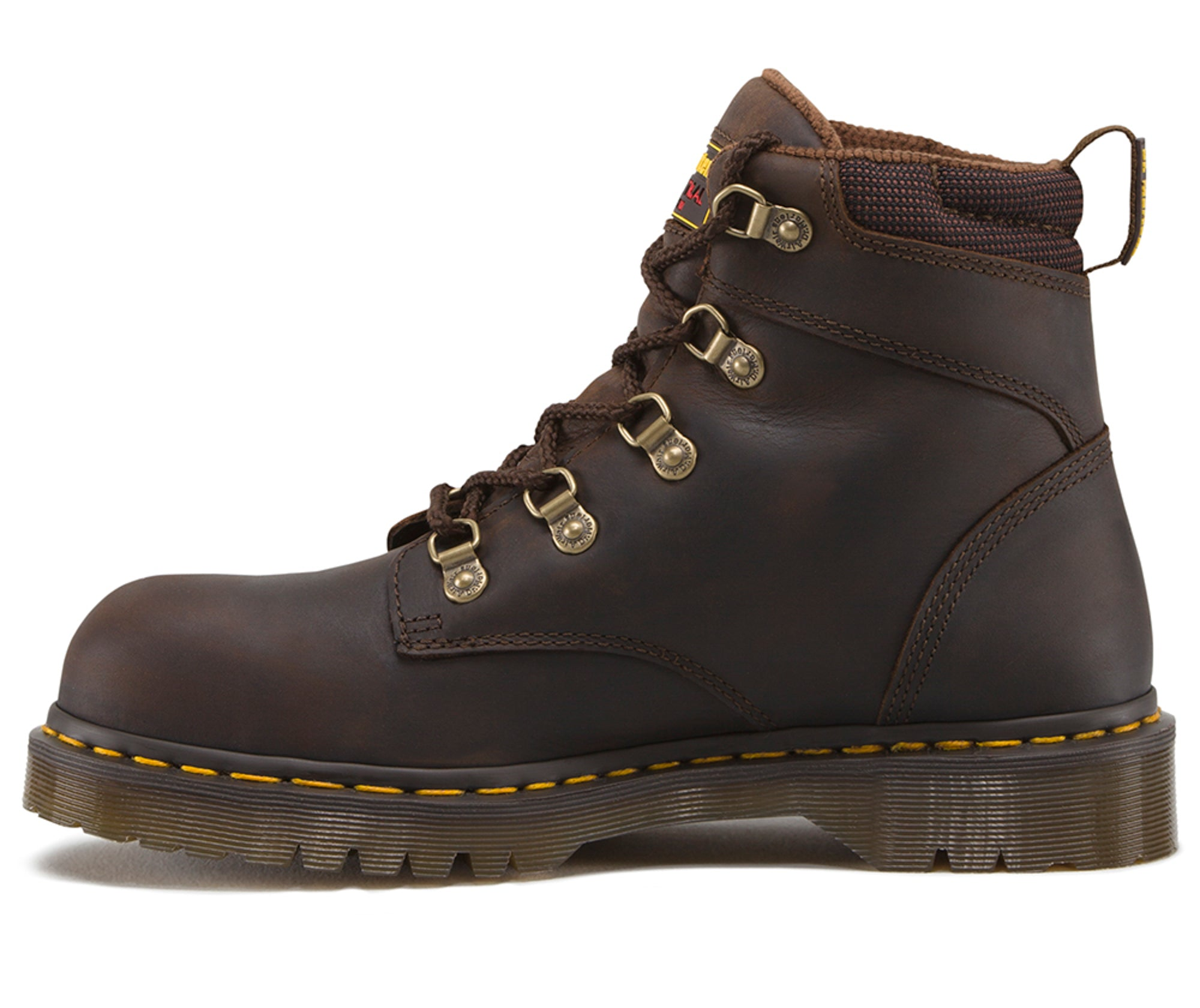 bbe85193e52 Dr Martens Gaucho Unisex Holkham Sd ST Volcano Leather Work Boots ...