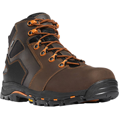 Danner Vicious 4.5in NMT Mens Brown Leather Safety Toe Work Boots 13860