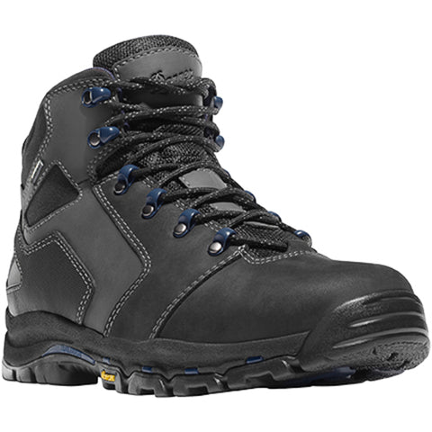 Danner Vicious 4.5in Mens Black Leather Goretex Work Boots 13862