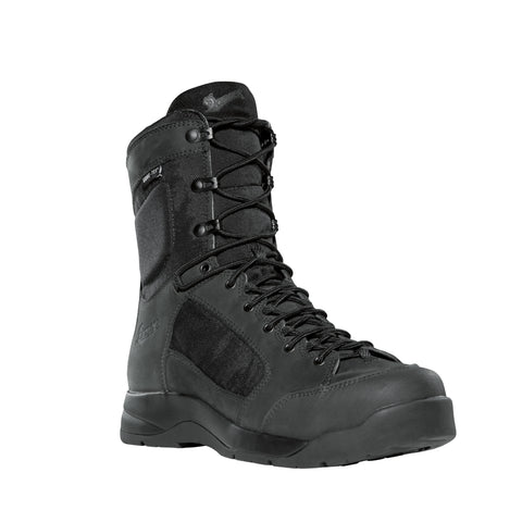 Danner DFA 8in GTX Mens Black Leather Goretex VIA Military Boots 15404
