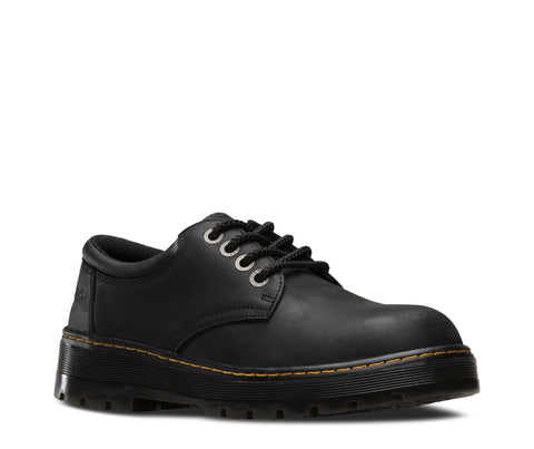 Dr Martens Black Unisex Bolt ST Wyoming Leather Work Shoes