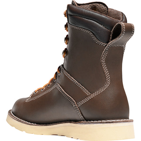 Danner Quarry USA 8in AT Wedge Mens Brown Leather GTX Work Boots 17329
