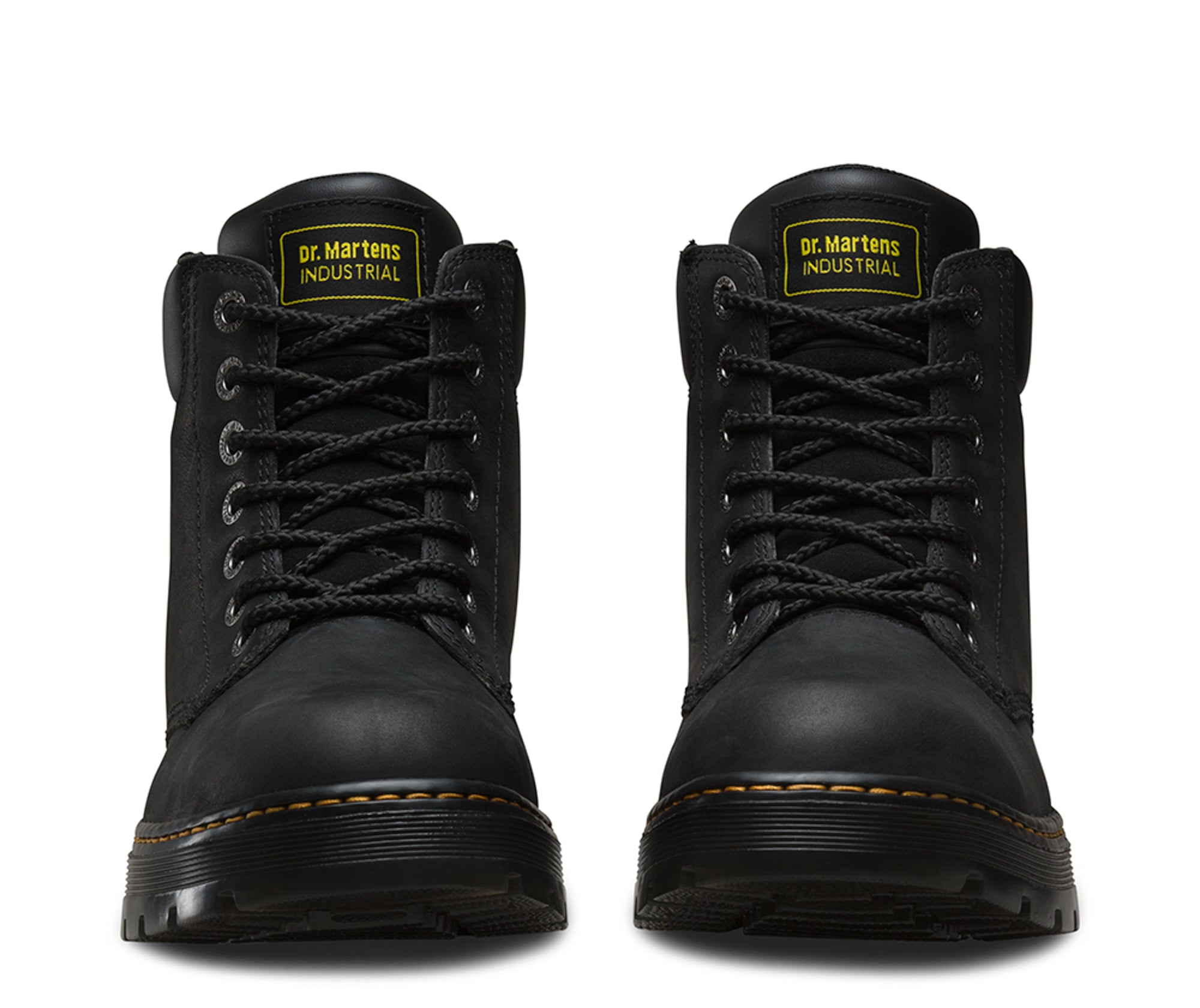 56d0dcf6687 Dr Martens Black Unisex Winch Ns Wyoming Leather Work Boots ...