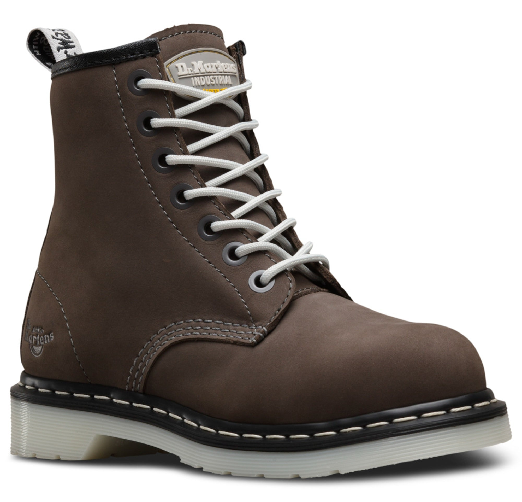 Dr Martens Grey Womens Maple St ST Wind
