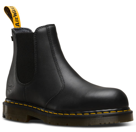 Dr Martens Black Unisex Fellside Sd ST Industrial Leather Work Boots