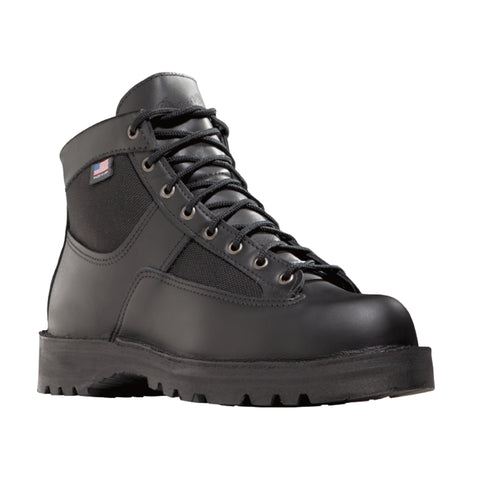 Danner Patrol 6in Mens Black Leather Goretex Uniform Boots 25200
