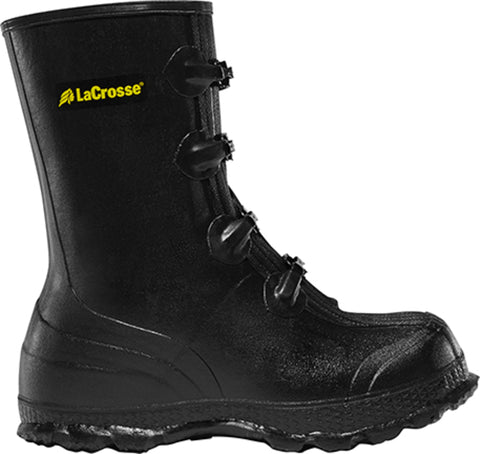 Lacrosse Z Series Mens Black Rubber 11in Work Overshoes