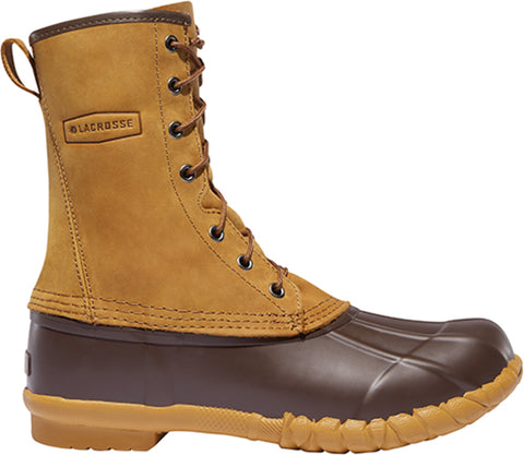 Lacrosse Uplander Mens Brown Leather 10in Oiled Hiking Boots