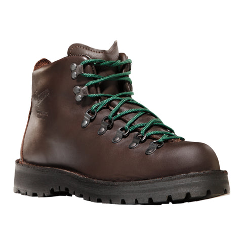 Danner Mountain Light II 5in Womens Brown Leather USA Hiking Boots 30800