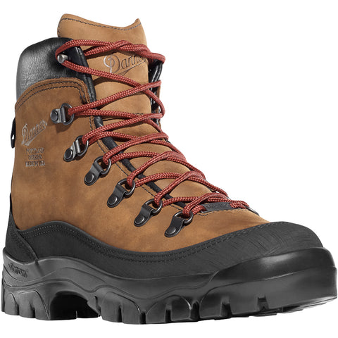 Danner Crater Rim 6in Mens Brown Leather Goretex Hiking Boots 37440