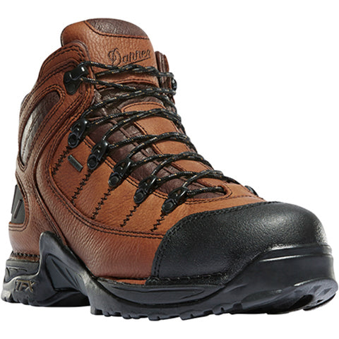 Danner 453 5.5in Mens Brown Leather Goretex Waxed Hiking Boots 37510