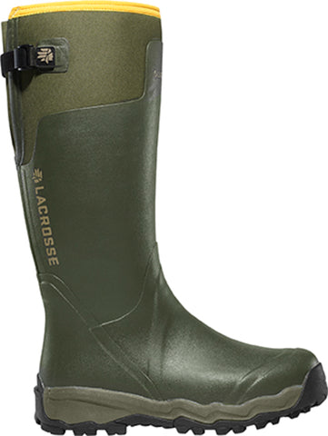 Lacrosse AlphaBurly Pro Mens Forest Green Rubber 18in Hunting Boots