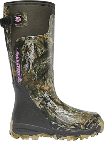 Lacrosse AlphaBurly Pro Womens MOBU Rubber 15in Hunting Boots