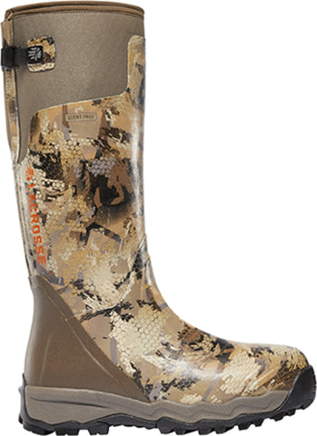 Lacrosse AlphaBurly Pro Mens Optifade Marsh Rubber 18in Hunting Boots