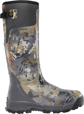 Lacrosse AlphaBurly Pro Mens Optifade Marsh Rubber 18in 800G Hunting Boots