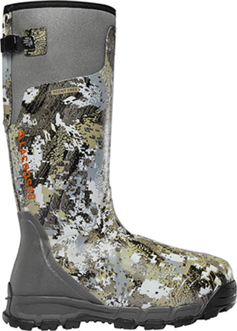 Lacrosse AlphaBurly Pro Mens Optifade Rubber 18in 1600G Hunting Boots