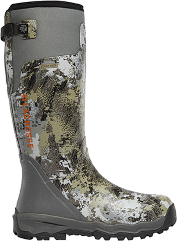 Lacrosse AlphaBurly Pro Mens Optifade Rubber 18in Hunting Boots