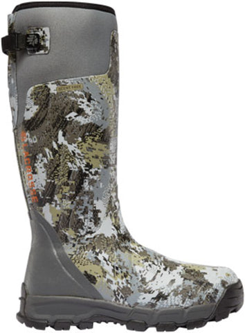 Lacrosse AlphaBurly Pro Mens Optifade Rubber 18in 800G Hunting Boots