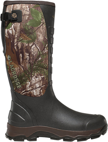 Lacrosse 4XAlpha Mens Realtree Xtra Rubber 16in 3.5mm Hunting Boots