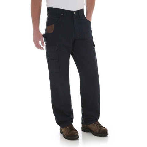 Wrangler Mens Navy 100% Cotton Ranger Pant Jeans