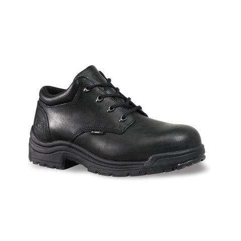 Timberland Pro TiTAN Oxford Mens Black Leather Work Shoes Safety Toe