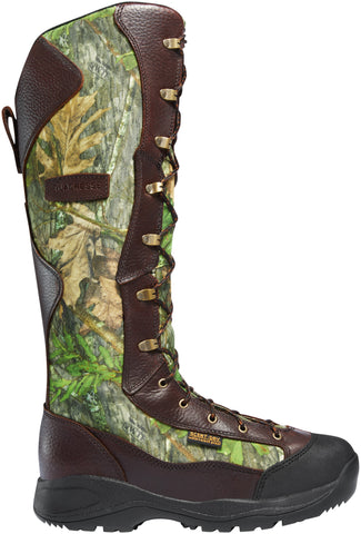 Lacrosse Venom Snake Mens Mossy Oak Leather 18in Hunting Boots