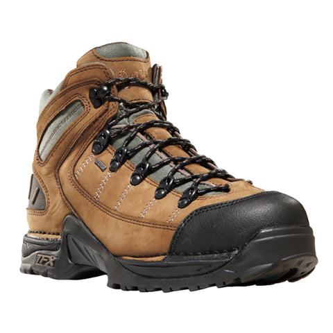 Danner 453 5.5in Mens Dark Tan Leather Goretex Hiking Boots 45364