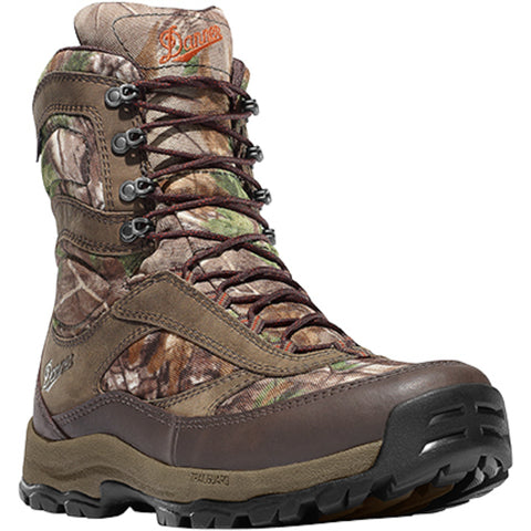 Danner High Ground 8in Mens Realtree Xtra Leather Hunting Boots 46222