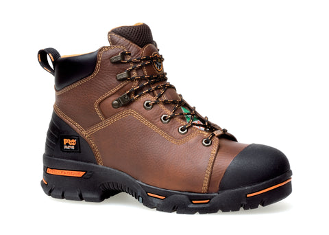 Timberland Pro 6In Endurance SP Mens Rancher Brown Leather Work Boots