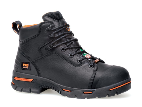 Timberland Pro 6In Endurance SP Mens Black Leather Work Boots Safety Toe