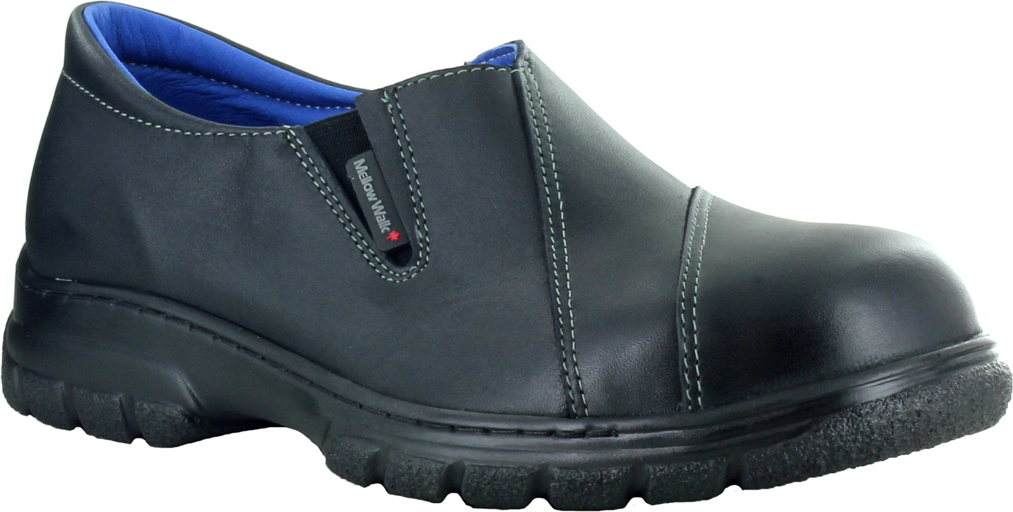 7a65547744a Mellow Walk Maddy Womens Black Leather Slip-On Shoes