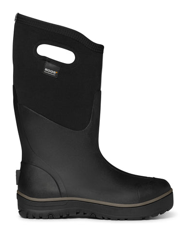 Bogs Mens Black Rubber Classic Ultra High Insulated WP Winter Boots