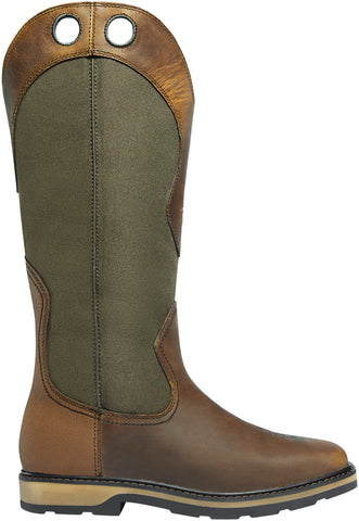 Lacrosse Snake Country Mens Olive Hot Leather 17in Hunting Boots