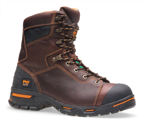 Timberland Pro PR 8In Endurance SP Mens Briar Brown Leather Work Boots