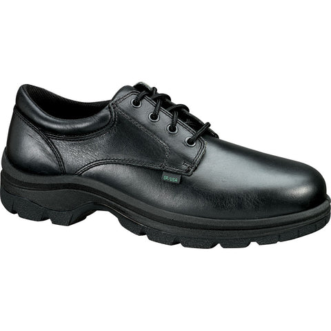 Thorogood Womens Soft Streets Black Leather Shoes Plain Toe Oxfords