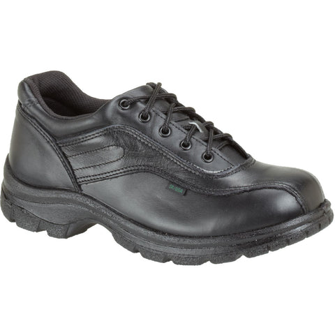 Thorogood Womens Soft Streets Black Leather Shoes Double Track Oxford