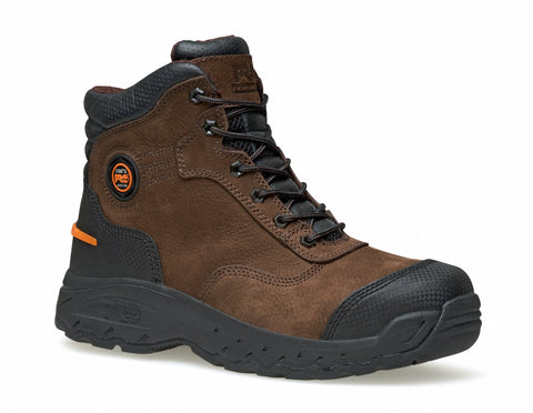 Timberland Pro 6In Endurance TiTAN XL Mens Brown Leather Work Boots