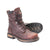 Rocky Mens Brown Leather Ironclad Waterproof 8in Work Boots