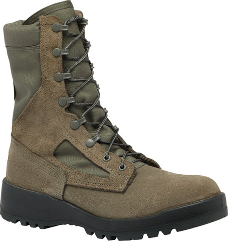 Belleville Female Hot Weather Combat Boots F600 Sage Leather