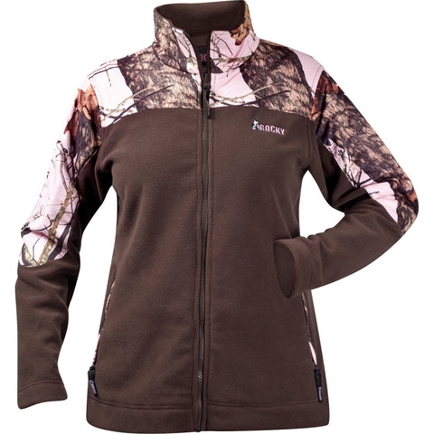 Rocky Silenthunter Womens Camo Pink Fleece Atomic SIQ Combo Jacket