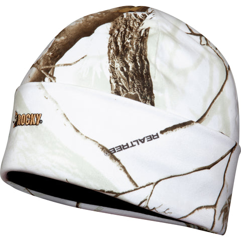 Rocky Prohunter Mens Realtree Snow Fleece Insulated Cuff Hat