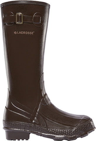 Lacrosse Grange Womens Chocolate Rubber 14in ZXT Work Boots