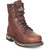 Rocky Ironclad Mens Brown Leather 8in Steel Toe Waterproof Work Boots