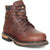 Rocky Ironclad Mens Brown Leather 6in Steel Toe Waterproof Work Boots
