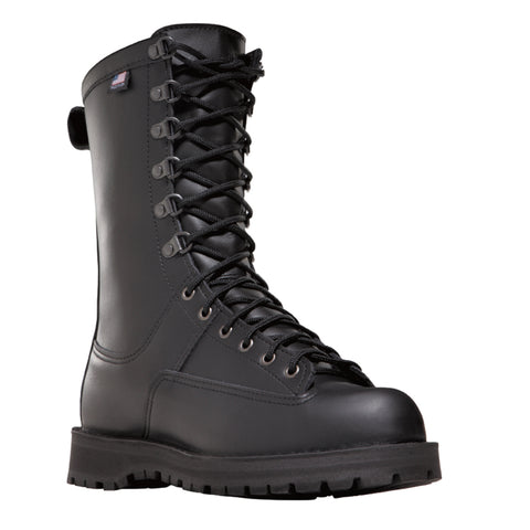 Danner Fort Lewis 10in 200G Womens Black Leather GTX Military Boots 69110