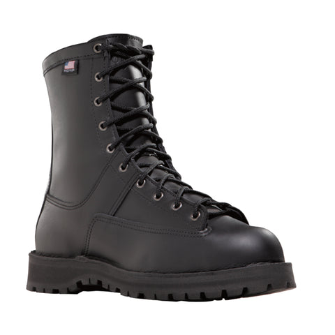 Danner Recon 8in 200G Womens Black Leather Goretex Military Boots 69410