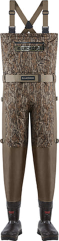 Lacrosse Alpha Swampfox Mens Bottomland Nylon 1000G Chest Waders