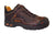 Thorogood Mens Shoes Brown Leather SD Safety Toe ASR Sport Oxford